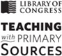 Library of Congress-Teaching with Primary Sources logo - black & white