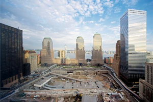 Ground Zero under construction, New York, New York