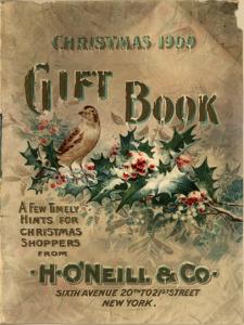 Christmas 1900 Gift Book