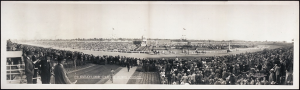 1941 Kentucky Derby, Churchill Downs,  Louisville, parading north