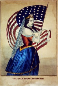"""The Star-Spangled Banner"" (New York: Currier & Ives, Late 19th Century)"