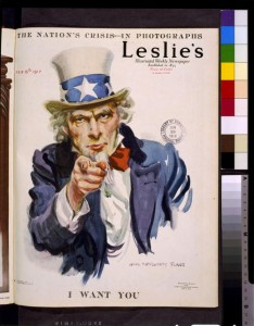 I want you by James Montgomery Flagg,1917