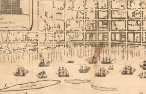 Map of the City of Philadelphia, 1761