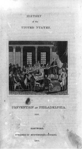 Washington at Philadelphia Convention, 1787