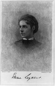 Emma Lazarus from the Library of Congress Prints and Photographs Division