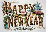 Happy New Year! Published by Currier & Ives, c1876