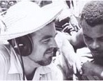Alan Lomax in the Caribbean, 1962.